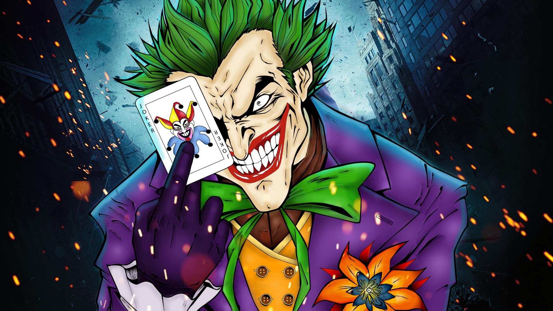 Joker 4K Art Wallpaper