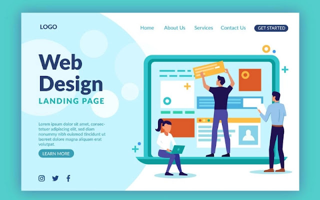 Keep your website design simple