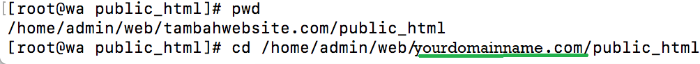 Download And Install WordPress Public_HTML Directory VestaCP Via SSH