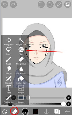filter tool ibis paint tetesan air mata
