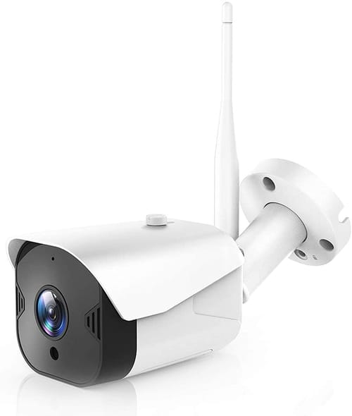 Review ISEEUSEE WiFi FHD Outdoor Security Camera