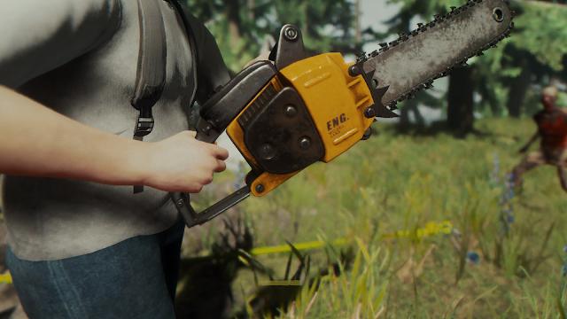 Hướng dẫn đi tìm Cưa máy và xăng vô tận trong The Forest (Chainsaw and Fuel Can)