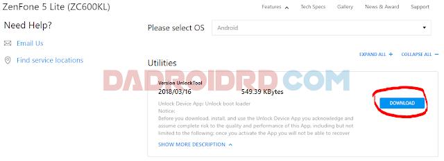 UBL Asus Zenfone 5 Lite ZC600KL