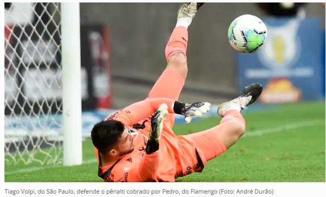São Paulo goleia o Flamengo em grande jogo no Maracanã ...