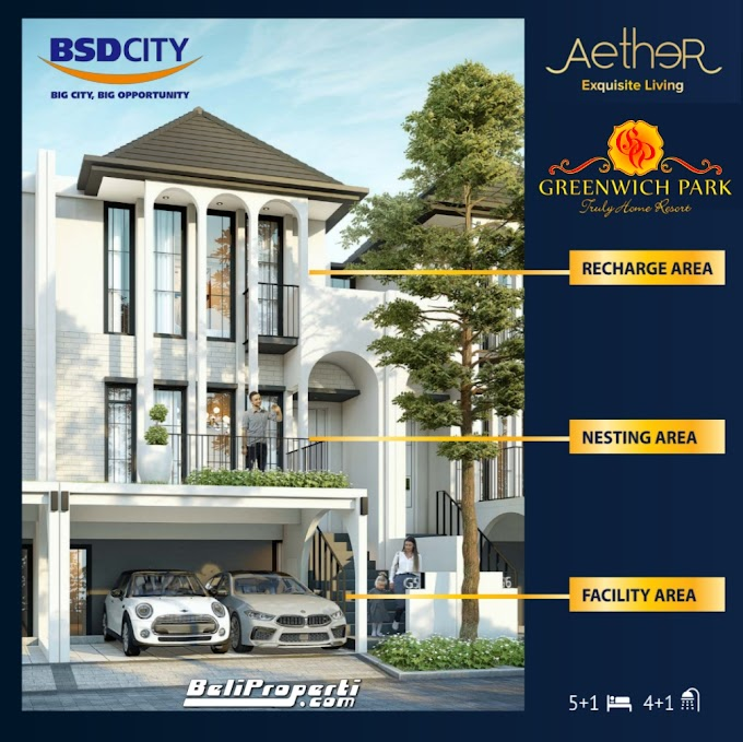 Cluster Aether at Greenwich Park BSD City Launching Tahap 2