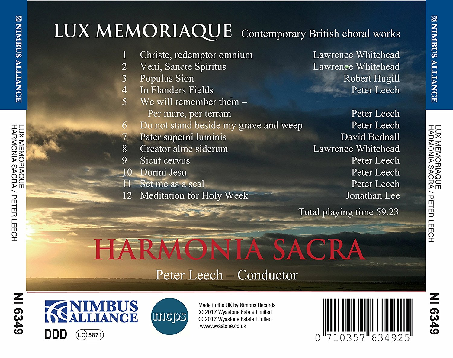Planet Hugill: New recording of Populus Sion from Harmonia Sacra