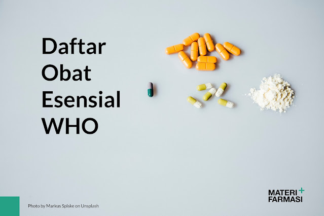 Daftar Obat Esensial WHO