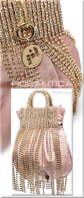 Rosantica pink Follie crystal-fringed tote bag #bags #eveningbags #rosantica #brilliantluxury