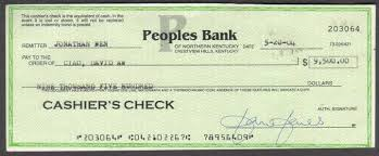 how to cash a cashiers check online