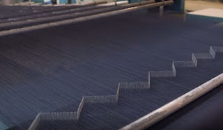 Weaving of Denim with PCW.