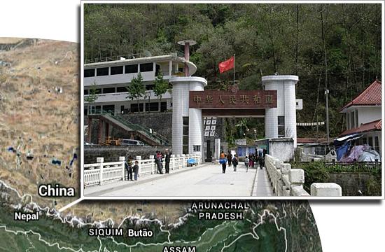 Fronteiras pelo mundo - China e Nepal