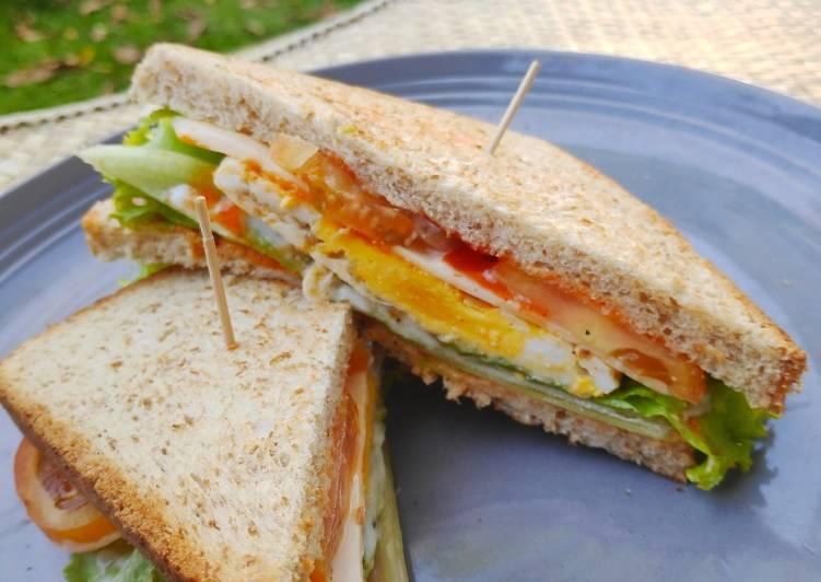 sandwich telur