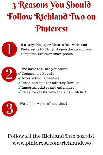 3 Reasons You Should Follow Richland Two on Pinterest