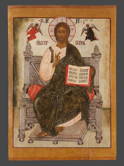 Jesus Cristo sentado no trono
