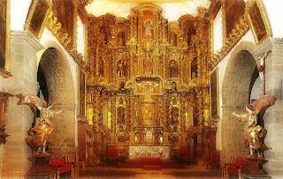 Altar Principal da Iglesia de San Blas, Cusco