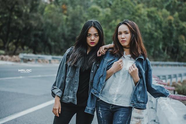 Phong cách tình bạn nữ trên đường cao tốc