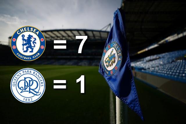 Chelsea Pesta Tujuh Gol Tanpa Ampun
