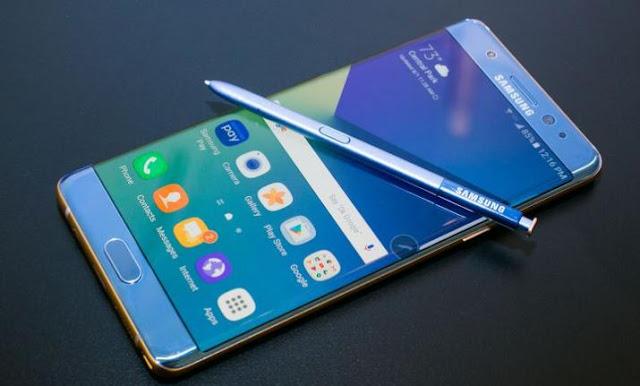 Software Smartphone Samsung GalaxyNote7