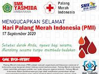 SELAMAT HARI JADI PMI KE 75 – 17 SEPTEMBER 2020