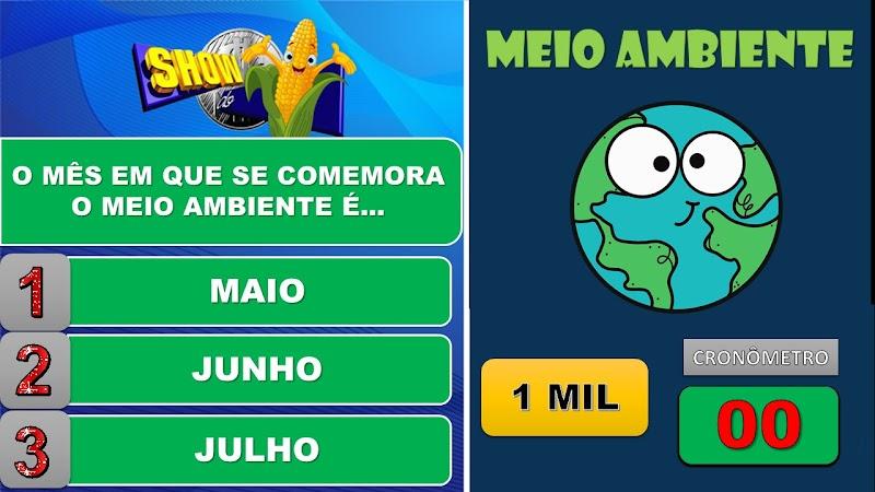 MEIO AMBIENTE - JOGO SHOW DO MILHÃO