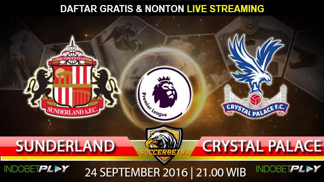 Prediksi Sunderland vs Crystal Palace 24 September 2016 (Liga Inggris)
