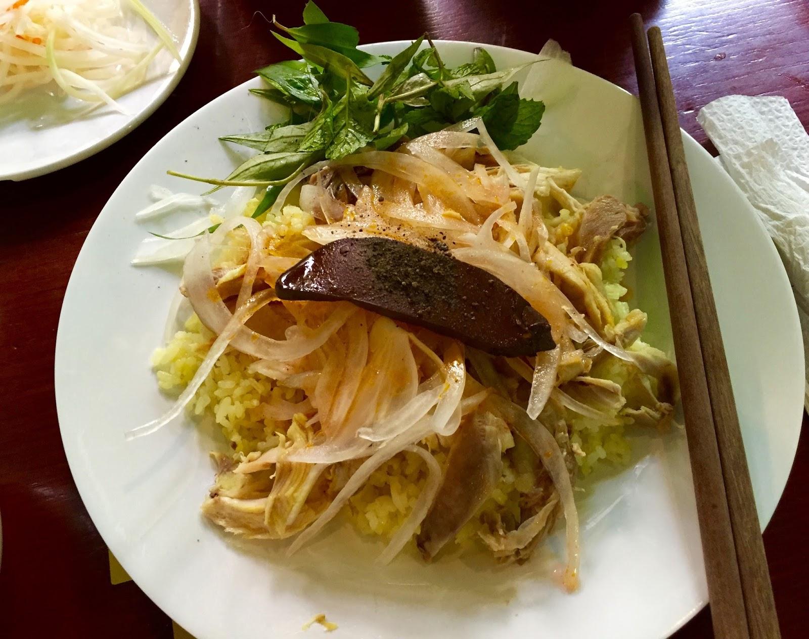 Com-ga-ba-buoi ベトナムチキンライス2