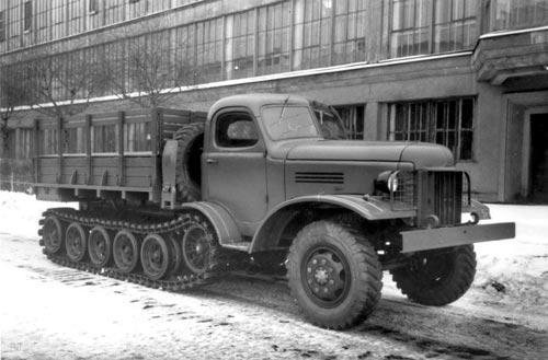 Опытный грузовой автомобиль ЗИС-153