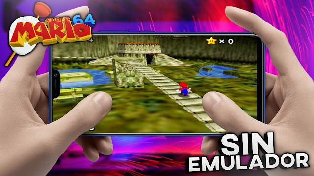Super Mario 64 (Mod Zelda Ocarina) Sin Emulador Para Teléfonos Android [Apk]