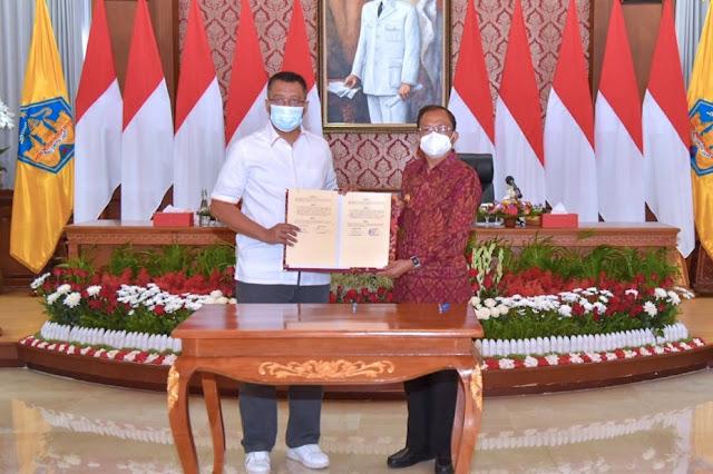 Gubernur NTB dan Gubernur Bali kerjasama majukan daerah