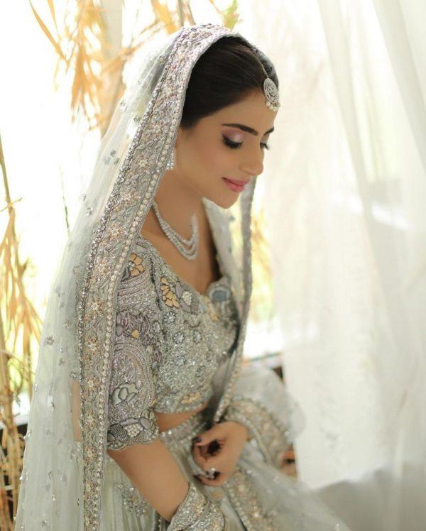 Saboor Ali Beautiful Bridal Photo Shoot