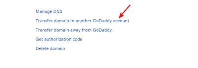 Godaddy to Godaddy Domain Transfer Kaie Kare