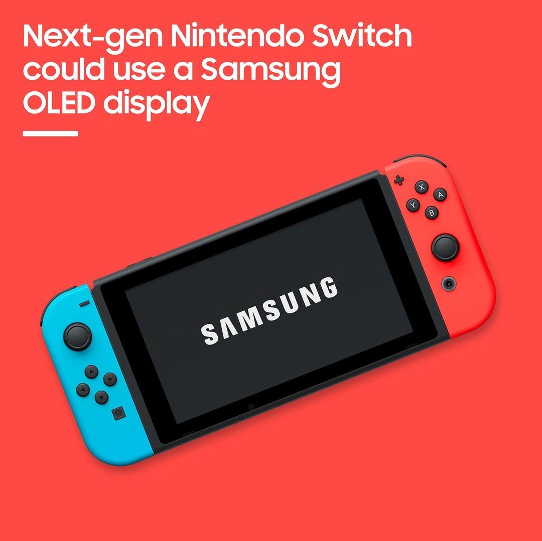 Nintendo Switch to use Samsung's OLED display