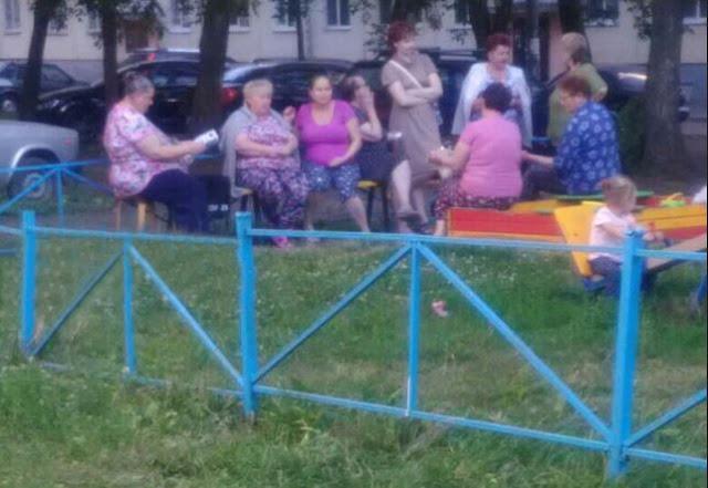 В Уфе бабушки тоже дети