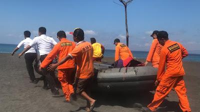 SPKKL Bali Bakamla Evakuasi Kapal Nelayan Mengalami Mati Mesin