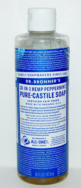 Dr. Bronner's Peppermint Pure Castile Liquid Soap