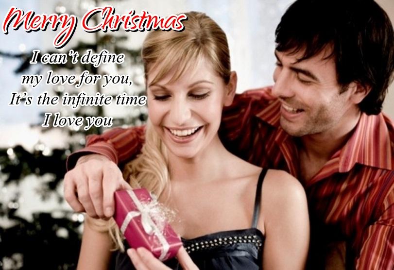 Christmas Couple Image