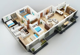 Latest Modern minimalist house design floor Comfortable