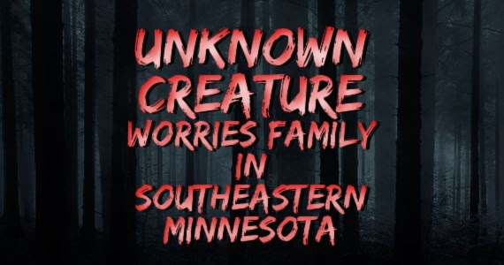 Unknown Creature Worries Residents in Southeastern Minnesota