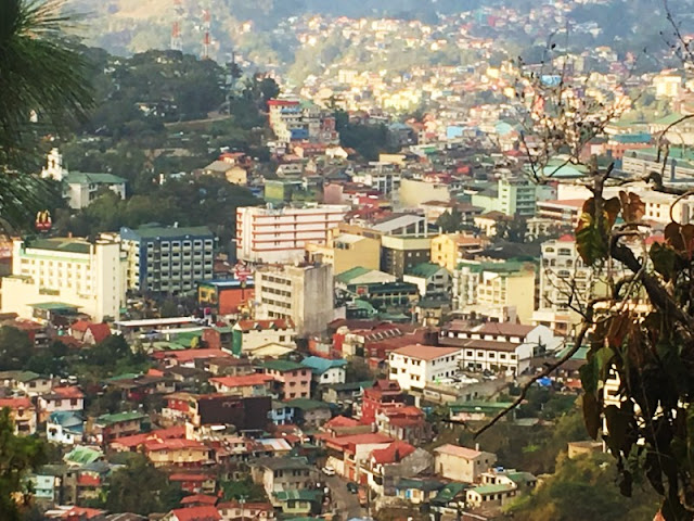 Baguio City View from Diplomat Hotel aka Dominican Retreat and Vacation House