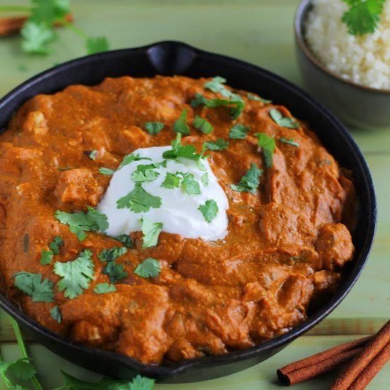 Pumpkin Chicken Tikka Masala