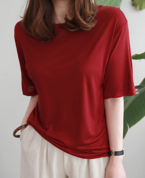 Round Neck Half Sleeve T-Shirt
