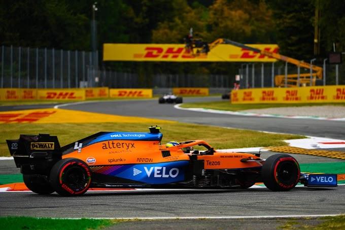 Lando Norris z pole position, wyniki kwalifikacji do GP Rosji 2021