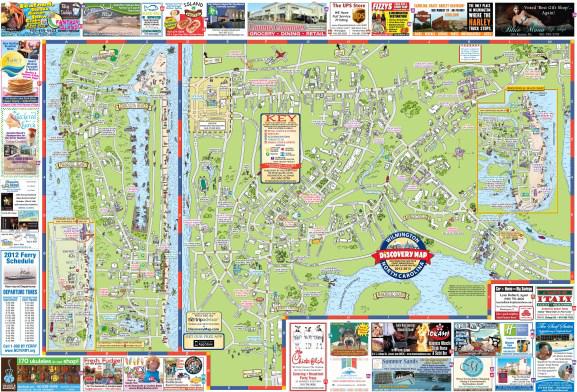 Pleasure Island Nc Map Pleasure Island, NC: Spotlight on Business   Discovery Maps of