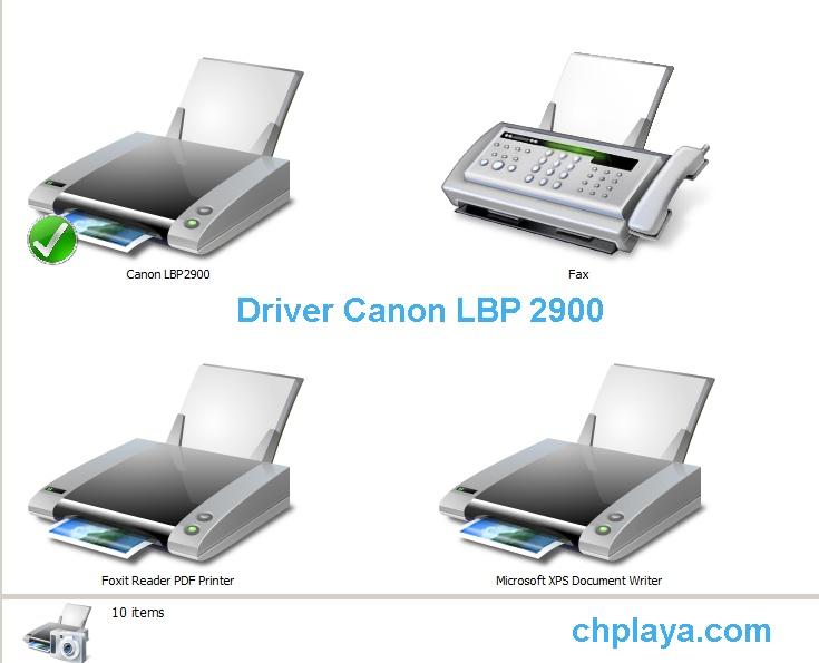 Tải Driver Canon LBP 2900 Cho PC Win 7/8/10 32bit, 64bit miễn phí a