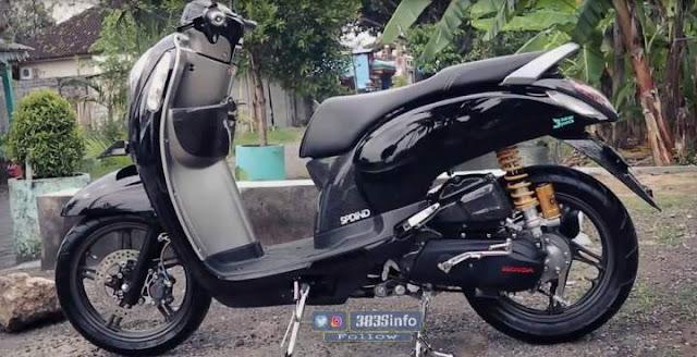 Modif Honda Scoopy Boreup Harian