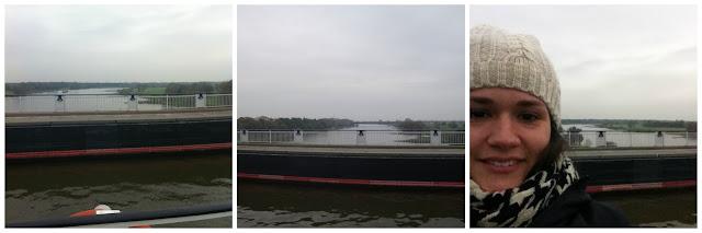 Ponte para barcos em Magdeburg, Alemanha