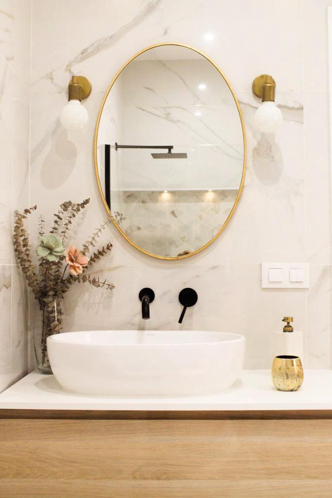 Baño tipo spa