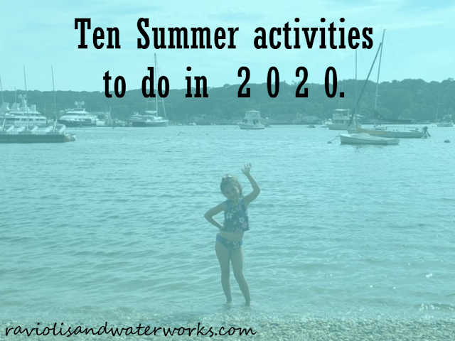 summer bucket list; things to do in the summer; summer fun ideas; ten summer activities to do this year