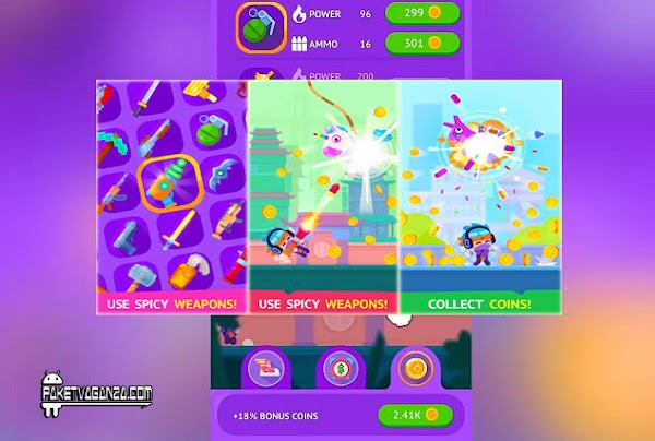 Pinatamasters Mod APK 1.2.3 All Weapons Unlocked