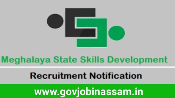 Meghalaya State Skills Development Society Recruitment 2018